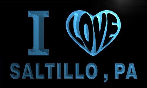 v65392-b-i-love-saltillo-pa-pennsylvania-city-limit-neon-light-sign