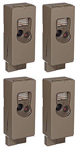 (4) Cuddeback Ambush Cuddesafe 3259 Hunting Game Camera Protective Metal Cases