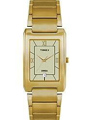 Timex Empera Plain 3 Hands Analog Beige Dial Men's Watch TI000R30000