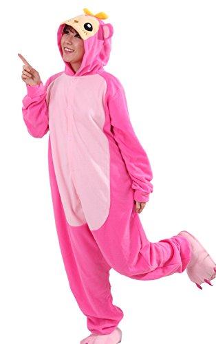 honeystore unisex erwachsene animal anime tier weihnachten halloween fasching carnival rosa affe. Black Bedroom Furniture Sets. Home Design Ideas