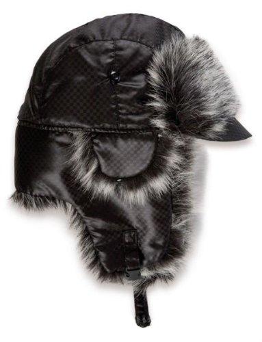 LST Wintermütze mit Schirm Polarmütze Fliegermütze