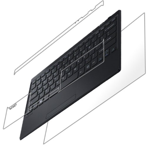 Iq Shield Liquidskin - Sony Vaio Tap 11 Full Body Skin Protector (Front & Back) (Keyboard) With Lifetime Replacement Warranty - High Definition (Hd) Ultra Clear Smart Film - Premium Protective Screen Guard - Extremely Smooth / Self-Healing / Bubble-Free S front-268086