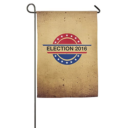 Show Time Presidential Election 2016 Decorative Garden Flag Pub Banner 18*27inch