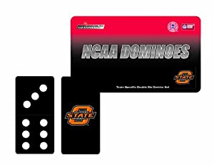 Buy NCAA Oklahoma State Cowboys Domino Set in Metal Gift Tin by Rico