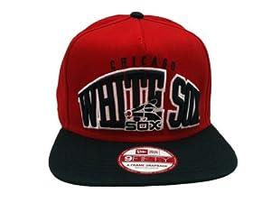 Chicago White Sox MLB Arched Logo Flat Bill Snapback Hat by New Era