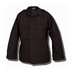 Tru-Spec Long Sleeve Tactical Shirt 65/35 Vat Dyed Polyester Cotton Rip-Stop