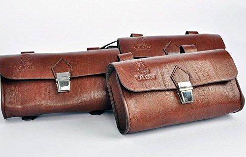 Handmade PU England Vintage Bike Saddle Bag Size 189cm4.5cm 4