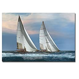 The Chase by Xavier Ortega Premium Gallery-Wrapped Canvas Giclee Art (Ready to Hang)