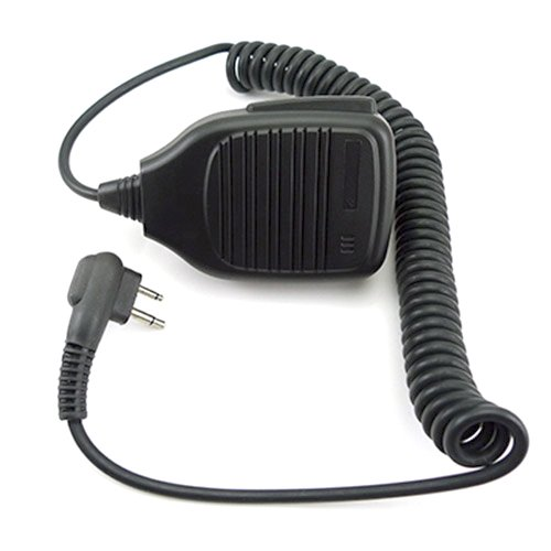 Mikrofon und Lautsprecher Mobilteil mit PTT für 2-pin MOTOROLA Funkgerät XV4100 XU1100 XU2100 CLS1410 CP88 usw.