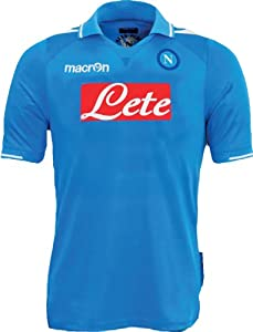 2011-12 Napoli Home Authentic Shirt