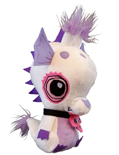 "Vamplets - Baby Undead Dragon - 12"" tall Designer Toy Plush Doll - Great Gift For Monster High Fans - Likes to play with Ghost Ponies - Lives in the Nightmare Nursery - By My Little Pony designer G-Ra"