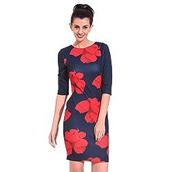 Saiints Poly Cotton Women Dress,Large
