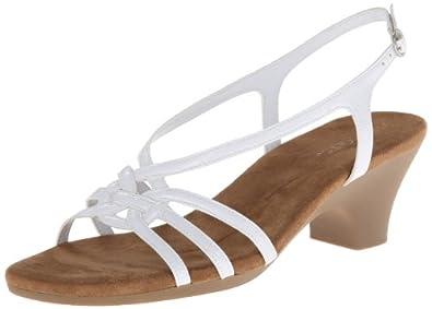 Aerosoles Women's Bravado Sandal,White Patent,9.5 M US