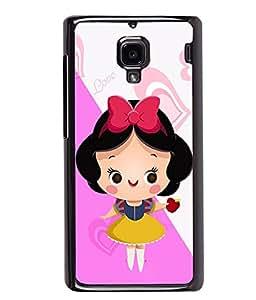 Printvisa 2D Printed Girly Designer back case cover for Xiaomi Redmi 1S - D4577