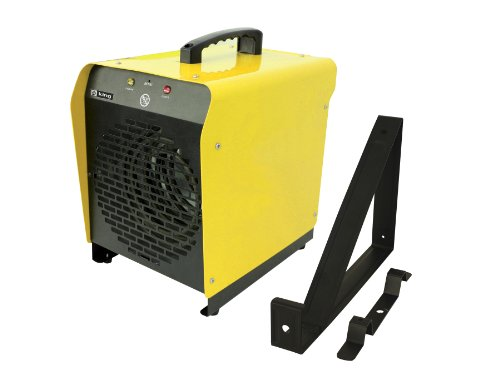 King Electric PSH2440TB 240-Volt, 4000-Watt Portable Garage Heater with Thermostat and Mounting Bracket (240 Volt Portable Heater compare prices)