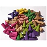 Incense Cones Mixed Variety of Scents (Pack of 100 Cones) Thailand Product