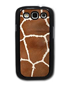 Giraffe Fur, Animal Print - Samsung Galaxy S3 Cover, Cell Phone Case - Black