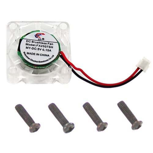 Redcat Racing Brushless ESC Cooling Fan & Mounting Screws (4 Piece)