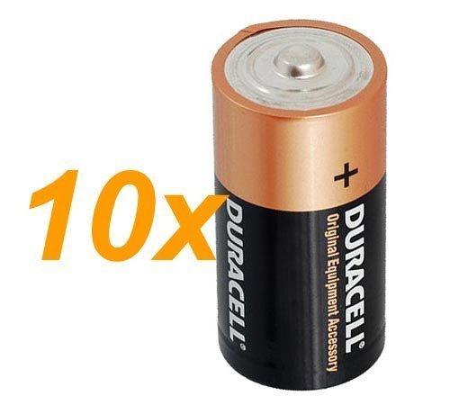 10-x-Duracell-15-V-Baby-C-LR14-AM2-4014Alkaline-Batterie