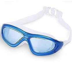 Adjustable Eye Protector Non-Fogging Anti UV Swimming Swim Goggle Glass Adult