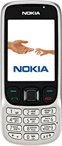 Nokia 6303i Téléphone portable Appareil photo 3,2 MP / MP3 / Bluetooth Acier