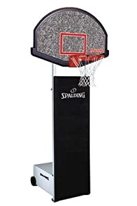 Buy Fastbreak 930 Side Court Portable Basketball Backstop with Acrylic Backboard from Spalding by Spalding