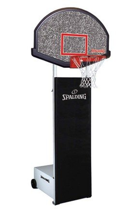 Fastbreak 930 Side Court Portable Basketball Backstop from Spalding