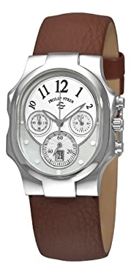 Philip Stein Women's 22-FMOP-CBR Classic Chronograph Dial Watch