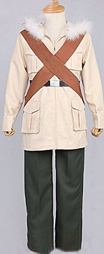 Camplayco Axis Powers Hetalia APH Canada Military Uniform Cosplay Costume-made