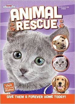 Kappa Publication 148503 Animal Rescue Coloring Book Assorted Styles Toys Games Toys Activity Toys