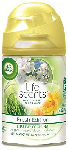Air Wick Freshmatic Automatic Spray Refill Air Freshener, Life Scents First Day of Spring, 1 Refill, 6.17oz (Papaya Air Freshener compare prices)