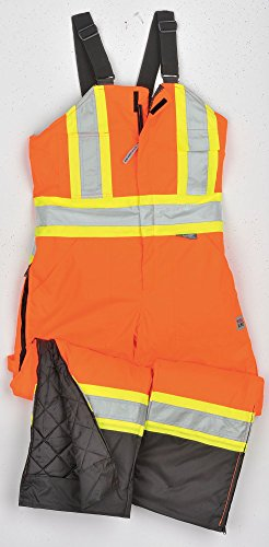 Richlu - S79831FLOR - Hi-Vis Insulated Bibs, Flo Orange,