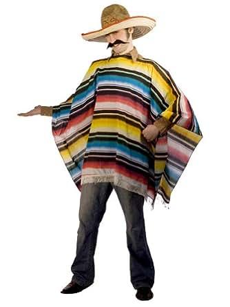 Amazon.com: Mexican Theatre Costumes Serape Poncho