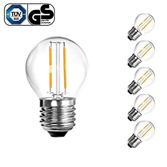 le 2 watt g45 led lampen 360 abstrahlwinkel tropfenform lampe ersetzt 25 watt gl hlampe. Black Bedroom Furniture Sets. Home Design Ideas