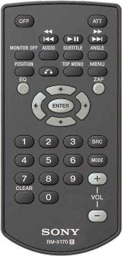 Sony Rm-X170 Remote Control