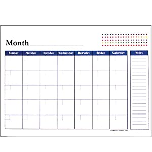 BAZIC Undated 12-Months Desk Pad Calendar BUY NOW ON AMAZON