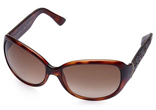 Fendi Fendi Oval Sunglasses (Demi Brown) (FS 5007|238|60) (Multicolor)