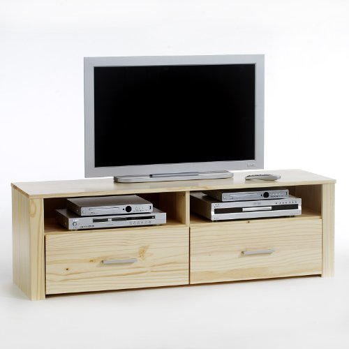 meubles tv meuble tv tenno 2 tiroirs 2 niches. Black Bedroom Furniture Sets. Home Design Ideas