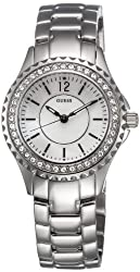 Guess Analog Mother of Pearl Dial Womens Watch - I95273L1