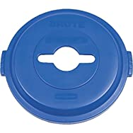 Rubbermaid Recycle Trash Can Lid-32GAL RECYC TRASHCAN LID