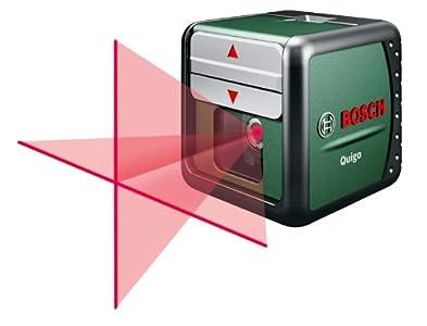 Cheapest  Bosch Quigo Cross Line Laser and MM2 Universal Holder/ Wall Mount