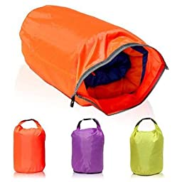 CAMTOA 40L Lightweight Dry Sacks Waterproof Dry Bag Canoe For Floating Boating Kayaking Camping (Color Random)