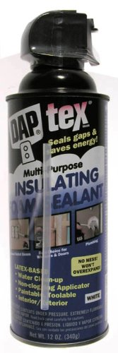 Dap 18826 Latex Foam Sealant 12-Ounce Aerosol Can