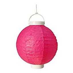 LumaBase 79103 3 Count Battery Operated Paper Lanterns, 8\