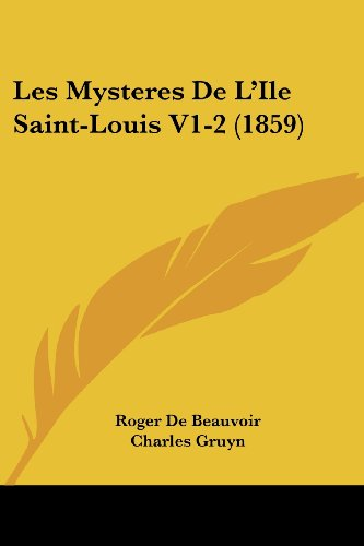 Les Mysteres de L'Ile Saint-Louis V1-2 (1859)