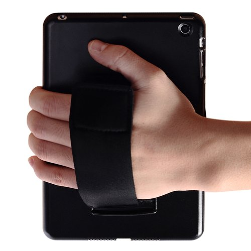 MiniSuit Snap Hard Case + Rotating Stand + Removable Hand Strap for iPad Mini