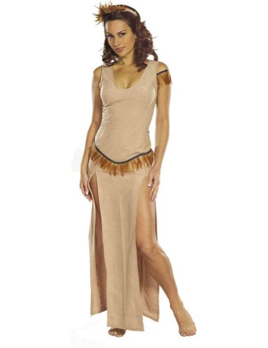Indian Maiden Md Adult Womens Costume