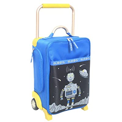Worlds Lightest Sub Zero G Kids Boys Suitcase from Landor and Hawa