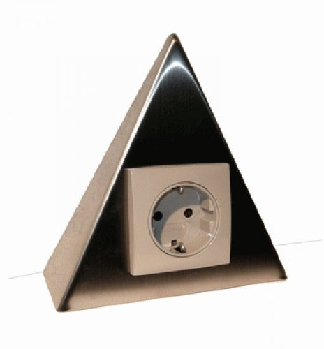 k che steckdosen dreieck ean 4260198630410. Black Bedroom Furniture Sets. Home Design Ideas