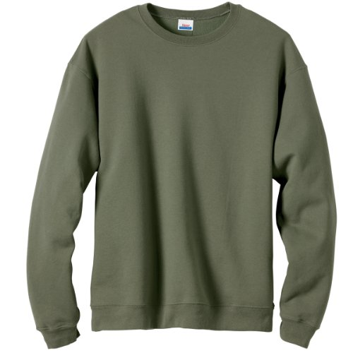 Hanes Men's Premium Cotton Fleece Crew 9 oz